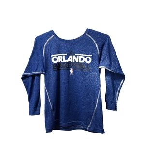 Orlando Magic Long Sleeve Shirt NBA Basketball S